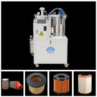 久耐机械高精度过滤器滤芯聚氨酯PU灌胶机