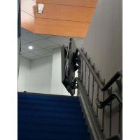 启运楼道斜挂式轮椅电梯 南京市 张家港市无障碍残疾人通道 泉州市家用轮椅平台
