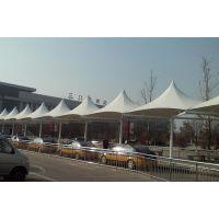 广东供应膜结构停车棚 景观棚遮阳篷