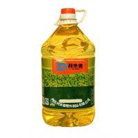 色拉油桶,PET透明桶厂家,利来德,优质3L食用油桶,带瓶盖塑料桶