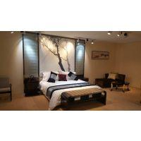 宾馆家具电视桌公寓酒店家具标间全套定制桌椅床头软包单间客房床
