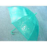 供应EVA透明伞长柄伞、半透明伞广告伞遮阳伞定制厂家
