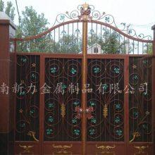铁艺大门 欧式别墅铸铁大门 设计制作 河南新力