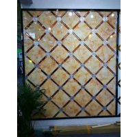 艺术玻璃拼镜背景墙沙发背墙 影视墙玄关灰镜银镜简约时尚