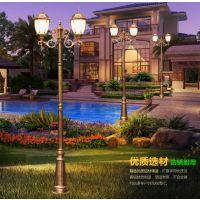 扬州弘旭照明生产户外庭院灯别墅花园灯道路灯欧式复古高杆灯飞利浦