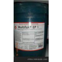 加德士EP2锂基极压润滑脂 (Multifak EP 2) 工业用润滑脂16公斤