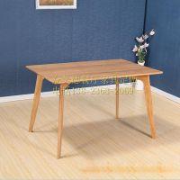 餐饮家具公司,北欧四人实木餐桌,家具厂定做餐厅桌椅