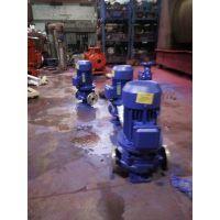 热水管道泵价格 ISG32-100I 0.75KW 山东滨州市众度泵业自来水管道泵 铸铁