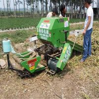 粉碎打捆实用青贮打捆机 秸秆粉碎打捆机农用捡拾多功能粉碎打捆