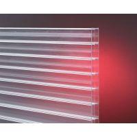 江苏批发透明三层阳光板 耐力板 温室大棚铝合金配件 典晨品牌