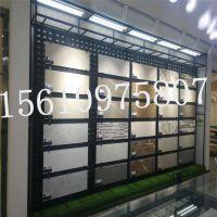 瓷砖展示架 陶瓷背板 杭州市大理石方孔展板