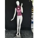 出全身人体陈列模特、七好模特展示道具、动态服装展示