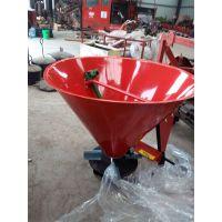 铁桶不锈钢单盘双盘撒肥机 农业林业田地专用撒肥机铁桶撒肥机