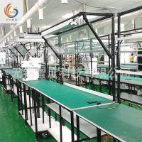 厂家直销防静电单边工作台流水线 定制不锈钢独立工作台流水线