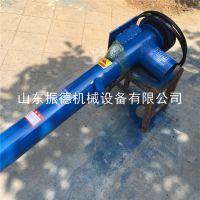 绞龙式螺旋输送机 振德 面粉厂定做螺旋提升机 砂子用垂直式输送机