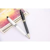 加工定制广告电容触屏圆珠笔高档金属插套签字笔 触屏头圆珠笔定做