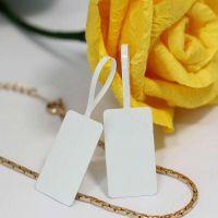 泉辰印刷 珠宝首饰吊牌标价标签 不干胶价格牌 饰品标签纸定做