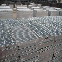钢格栅平台板 电厂楼梯踏步板规格 镀锌钢格板