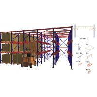杭州立野贯通货架,优质冷轧钢,厂家直销支持非标定制