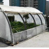 简易花园暖房塑木塑龙骨花房农用蔬菜水果大棚迷你花房