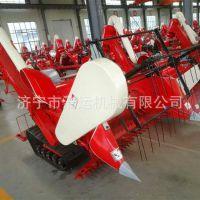 工厂现货批发 小麦水稻小型收割机 液压升降履带水稻联合收割机