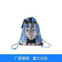210D热转印丝印拉绳背包袋 190T热升华抽绳袋涤纶袋尼龙束口袋子