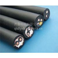 供应齐鲁牌裸铜线交联绝缘PVC护套铠装电力跳纤 1*2.5