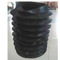 圆型丝杠伸缩橡胶保护套厂家