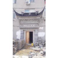 供应苏州 砖雕照壁 砖雕门楼 广场泥塑