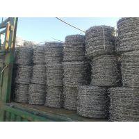 孟业供应防生锈刺绳护栏网 不锈钢刀片刺绳