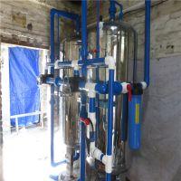 湛江直销养殖厂井水除铁锰过滤设备 4吨不锈钢过滤设备找晨兴