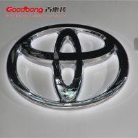丰田发光汽车logo 亚克力汽车招牌 上海车标定制厂家