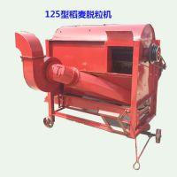 太原7.5kw电机稻麦脱粒机 富兴四分离高粱打粒机 高粱打麦机价格