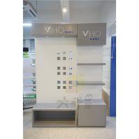 厂家定制定做 开关插座展板组合柜 品牌厨卫LED灯饰层格展示柜