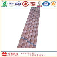 青岛宏泰厂家供应 高精度光面铜管 R410A铜管