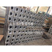 打包箱式房 三代型材焊接框架 镀锌钢配件 加宽顶底梁 优化排水槽设计