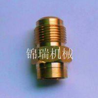 加工黄铜接头 铜宝塔 铜套  空调配件