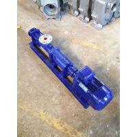 北京上海众度泵业G型单螺杆泵G105-1扬程功率选型价格