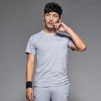 雷宾迪 夏季男士运动休闲套装纯棉加肥加大户外运动服男式跑步健身服7840A