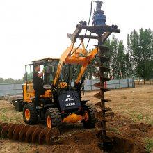 打坑机 水泥杆打洞机 拖拉机钻坑机 洪涛电力 厂家直销