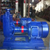 厂家直销40ZW10-20绥化市立式无密封自控自吸泵的结构原理图及工作原理。