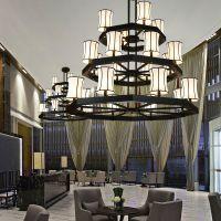 现代新中式吊灯 大气大厅客厅吊灯餐厅卧室书房茶楼灯具