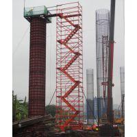 建筑施工安全爬梯 中铁标化香蕉式梯笼 脚手架
