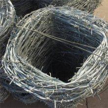 揭阳12*12#双股刺绳围栏网——草场隔离圈护刺丝围网一吨报价