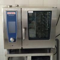 德国Rational万能蒸烤箱SCC61 莱欣诺商用烘炉电炉 乐信智能烹饪蒸烤箱