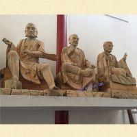 温州禅相佛像厂家定制木雕十八罗汉佛像价格