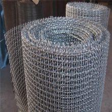 丹东镀锌冷拔丝轧花网/5mm裹边焊接编织网养猪网/炊具用网厂家