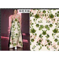 绍兴柯桥数码印花厂 提供成品印花布 更有N多时装花型可供选择打样