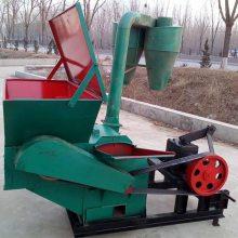 双进料口粉碎机 广西直供自动进料打草机 大小型养殖场用秸秆打糠机
