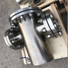 龙图DN400 PN25不锈钢T型过滤器